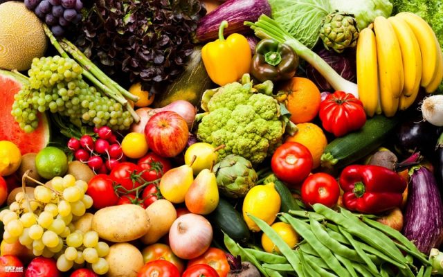 diet rich-in fruits and vegetables