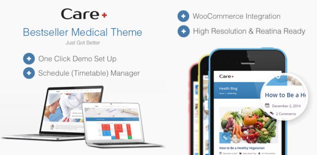 care medical theme