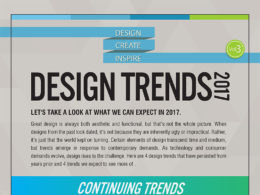 web design trends 2017 infographic