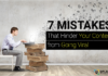 These 7 Mistakes will destroy your viral content