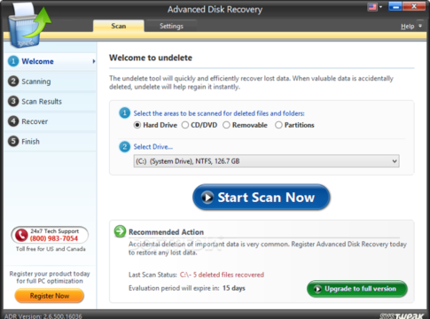 Advanced Disk Recovery