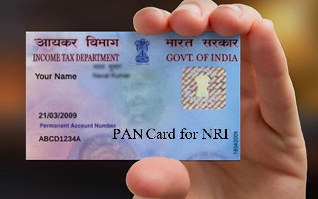 PAN Card NRI