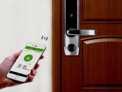 fingerprint biometric bluetooth smart door lock