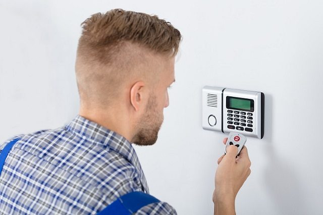 home alarm installation