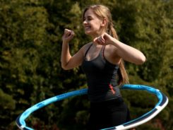 smart fitness hula hoop