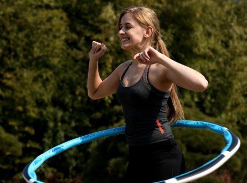 smart fitness hula hoop
