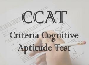criteria cognitive aptitude test