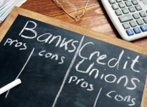 credit union vs bank