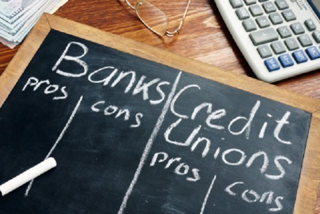 credit union vs bank