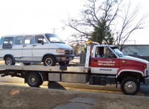 car wrecker tow