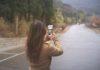 photo using smartphone