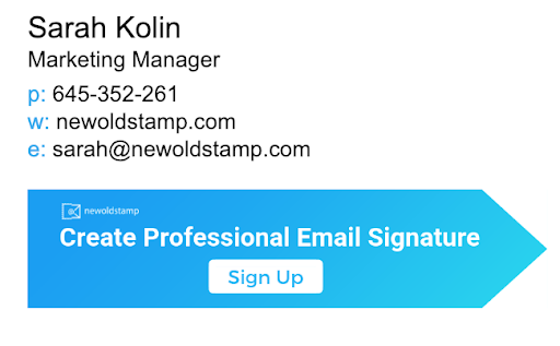 email signature 5