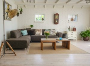 drawing room with carpet