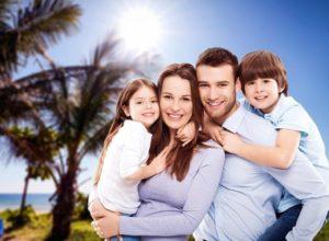 family vacation trip