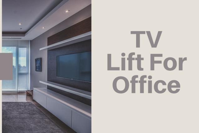 pop up TV lifts