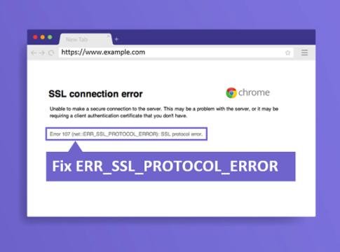 Fix ERR_SSL_PROTOCOL_ERROR