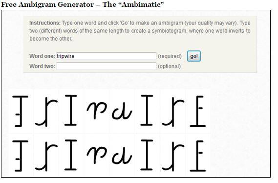 ambigram.net