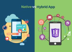 native apps vs hybrid apps