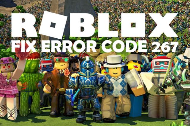 roblox fix error code 267
