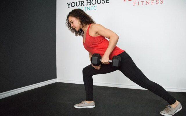 dumbbells exercise