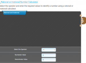 rational and irrational number calculator
