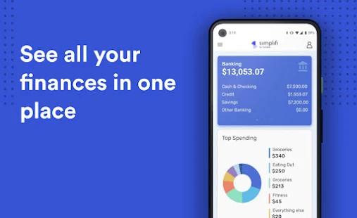 Simplifi budget tracker