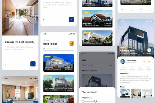 real estate mobile app