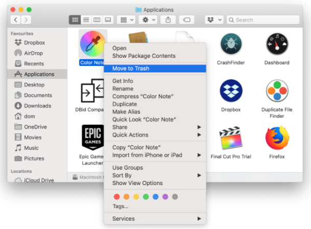 remove unwanted apps from mac
